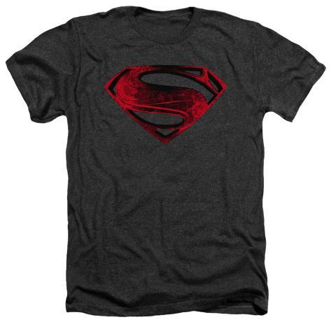 Man of Steel - Red And Black Glyph T-Shirt