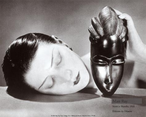 Germanposters 1926 Poster Kunstdruck Bild 60x80cm Man Ray Noire et Blanche