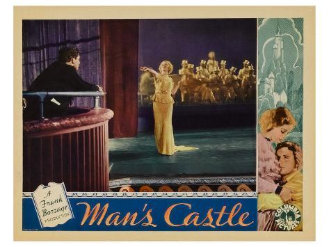 Man's Castle, 1933 Stretched Canvas Print