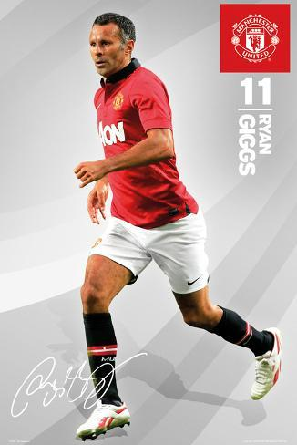 Man United - Giggs Poster