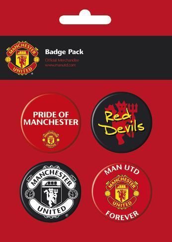 Manchester United Badge Pack Badge