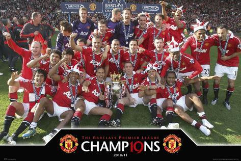 Manchester United-Celebration Poster