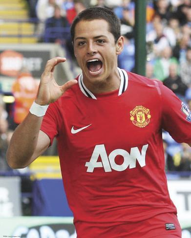 Manchester United-Hernandez Photo