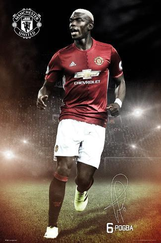 Manchester United- Pogba Poster