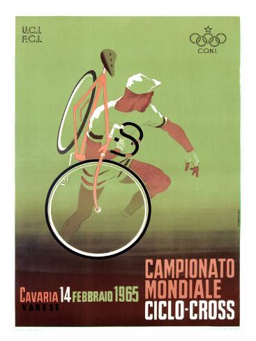 Campionato Mondiale, Ciclo, 1965 Giclee Print