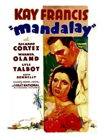 Mandalay, Kay Francis, Ricardo Cortez, 1934 Foto