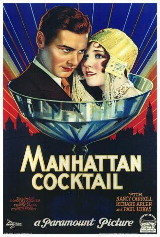 Manhattan Cocktail Poster