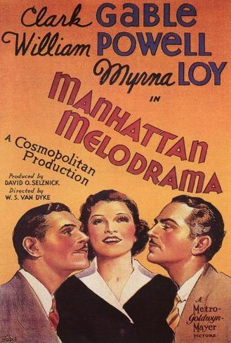 Manhattan Melodrama Poster