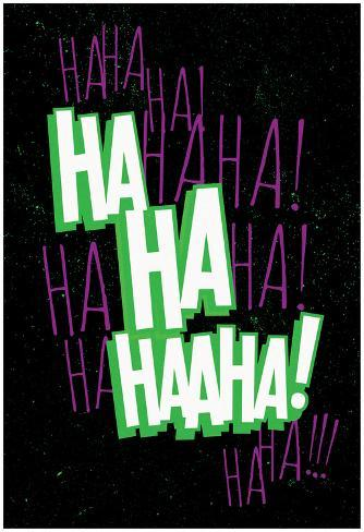 オールポスターズの maniacal laugh green purple ポスター