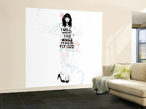 I Will Invent Wall Mural – Large