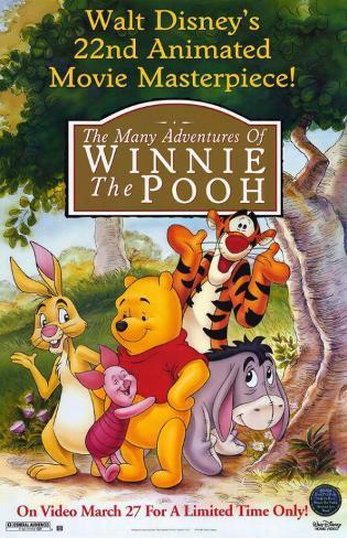 Many Adventures of Winnie the Pooh Masterprint