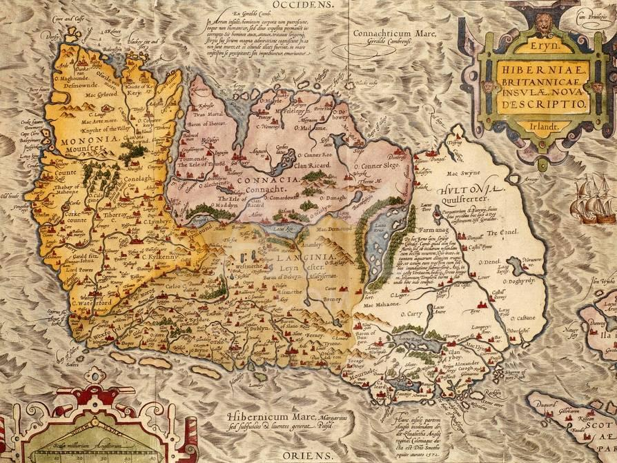 Map Of Ireland 32.Map Of Ireland Giclee Print At Allposters Com