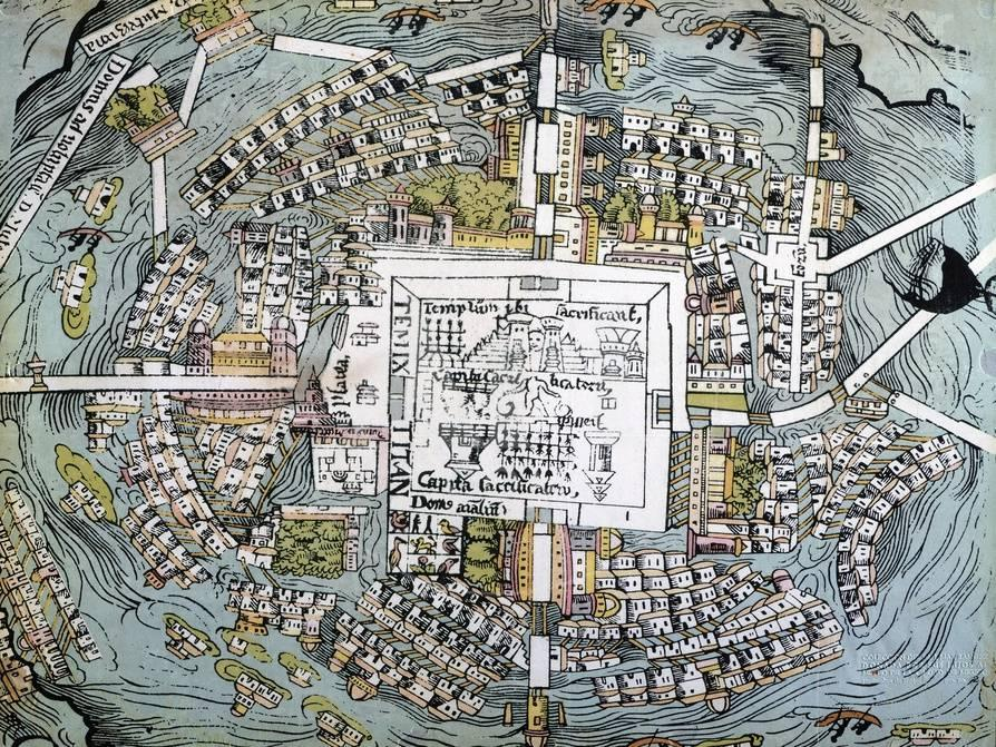 City Map Of Mexico on