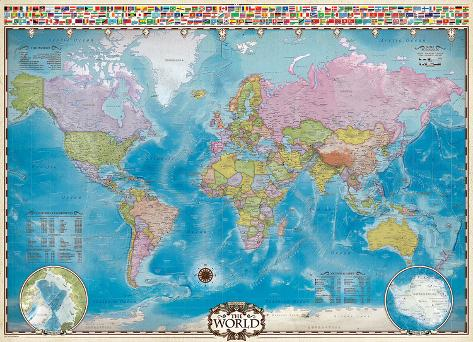 Map of the world 1000 piece puzzle jigsaw puzzle at allposters map of the world 1000 piece puzzle gumiabroncs Gallery
