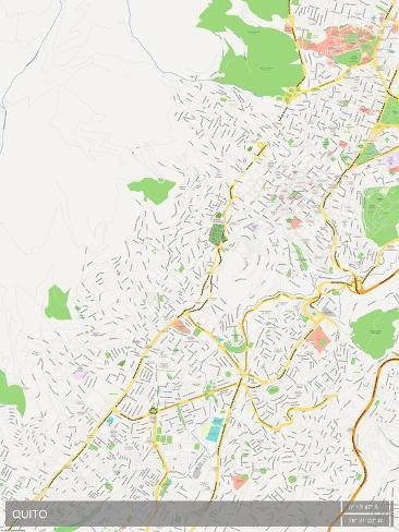 Mapa de quito ecuador lminas en allposters mapa de quito ecuador pster gumiabroncs Image collections