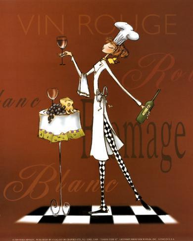 Sassy Chef II Art Print