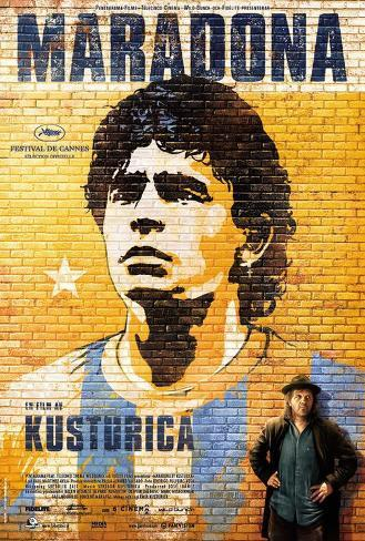 Maradona by Kusturica - Swedish Style Poster