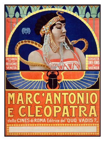 Marc Antonio e Cleopatra, Societa Cines Giclee Print