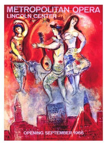 Metropolitan Opera Giclee Print