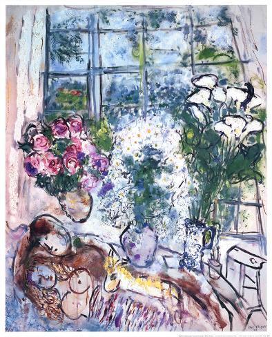 The White Window Art Print
