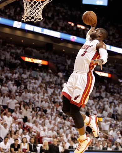 Chicago Bulls v Miami Heat - Game Four, Miami, FL - MAY 24: Dwyane Wade Photo