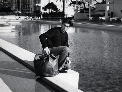 Alain Delon: Melodie En Sous Sol, 1963 Photographic Print