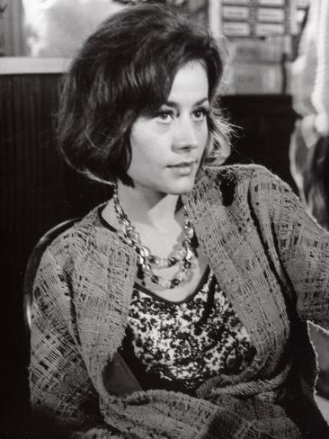 Annie Girardot: Le Bateau D'Emile, 1962 写真プリント
