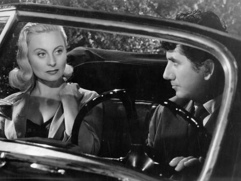 Daniel Gelin and Michele Morgan: Retour de Manivelle, 1957 Photographic Print