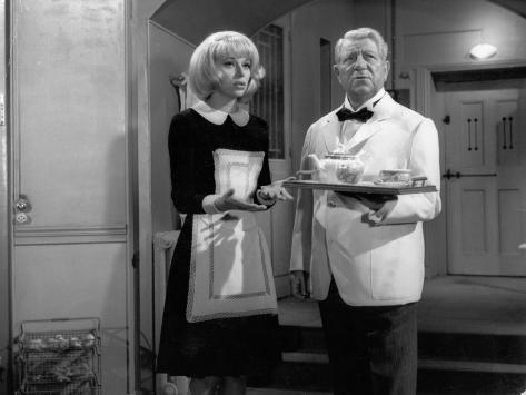 Jean Gabin and Mireille Darc: Monsieur, 1964 Photographic Print
