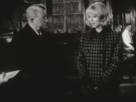 Jean Gabin and Mireille Darc: Monsieur, 1964 Fotoprint