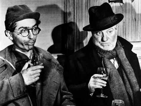 Jean Gabin: Archimède, Le Clochard, 1959 写真プリント