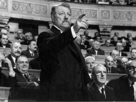 Jean Gabin: Le Président, 1961 Photographic Print