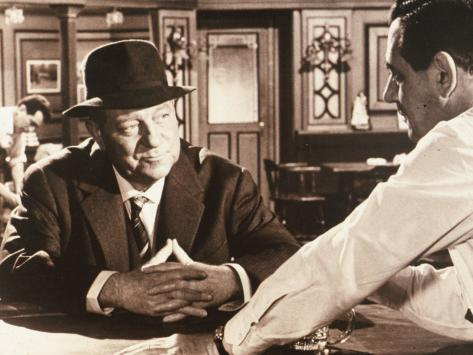 Jean Gabin: Maigret Voit Rouge, 1963 Impressão fotográfica