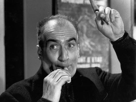 Louis de Funès: Faites Sauter La Banque !, 1963 Photographic Print