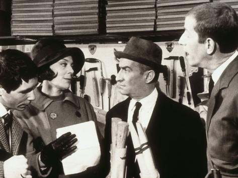Louis de Funès: Faites Sauter La Banque !, 1963 Lámina fotográfica