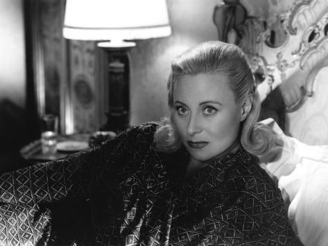 Michèle Morgan: Retour de Manivelle, 1957 Fotoprint