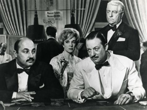 Micheline Presle and Jean Gabin: Le Baron de L'Écluse, 1959 Stampa fotografica