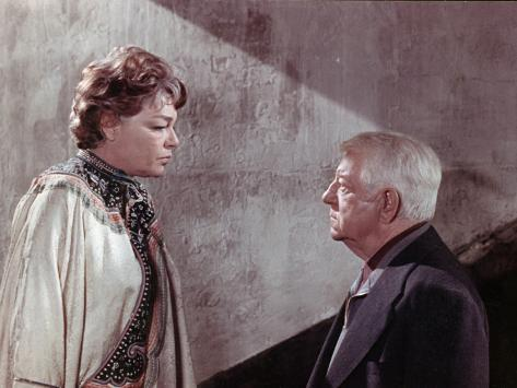 Simone Signoret and Jean Gabin: Le Chat, 1971 Photographic Print