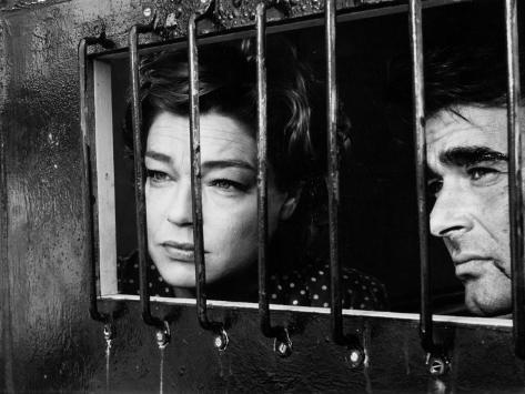 Simone Signoret and Stuart Whitman: Le Jour et L'Heure, 1963 Photographic Print