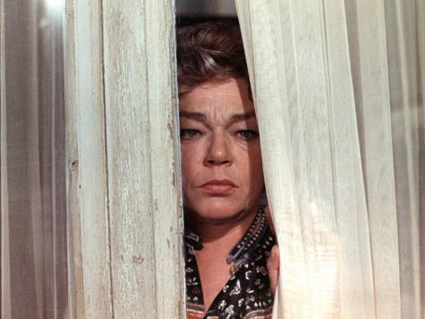 Simone Signoret: Le Chat, 1971 Stampa fotografica