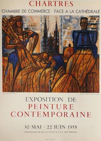 Exposition Chartres Collectable Print
