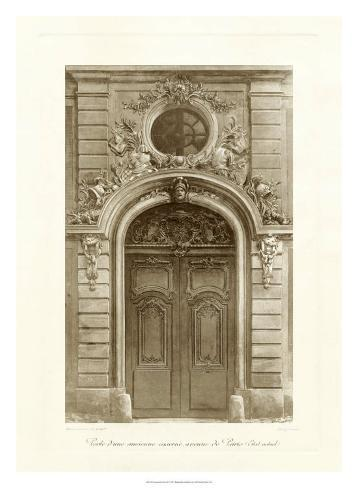 Ornamental Door I Giclee Print