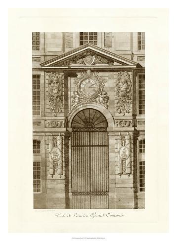 Ornamental Door II Giclee Print