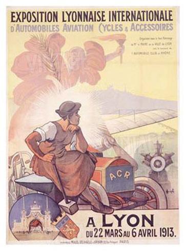 Exposition Lyonnaise Giclee Print