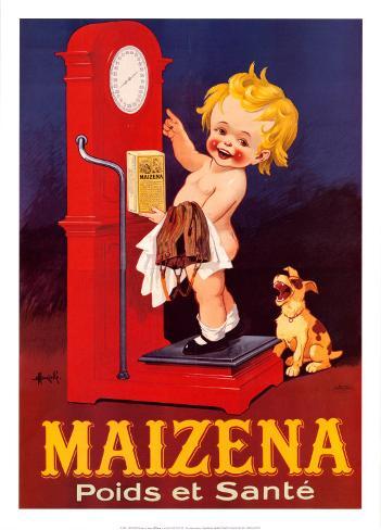 Maizena Art Print