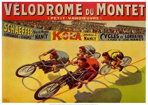 Velodrome du Mont Art Print