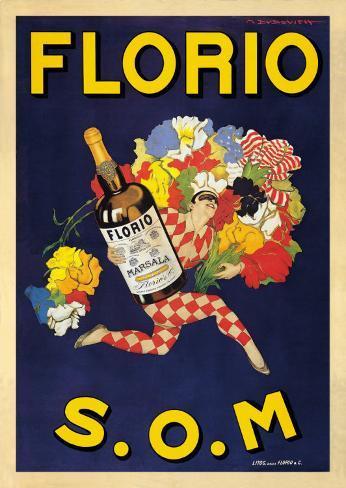 Florio, 1915 Art Print