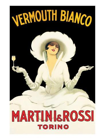 Martini and Rossi Art Print