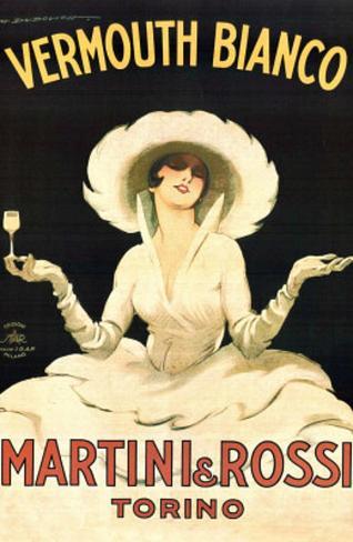 Marcello Dudovich (Martini & Rossi - Torino) Art Print Poster Mini Poster