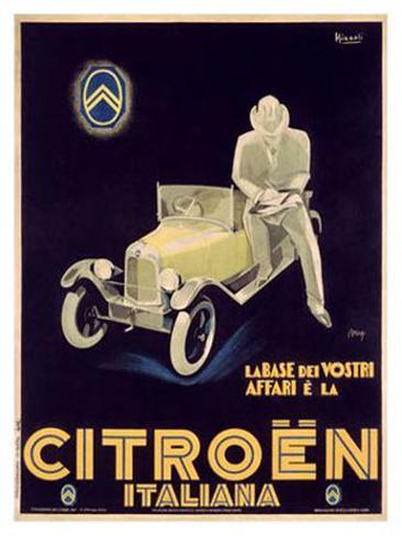 Citroen Giclee Print